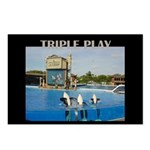 Triple Play 8-pack Postcards