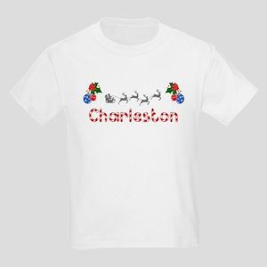 Charleston, Christmas Kids Light T-Shirt