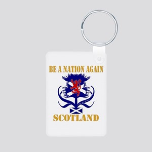 Be a nation again Scotland Aluminum Photo Keychain
