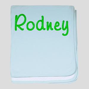 Rodney Glitter Gel baby blanket