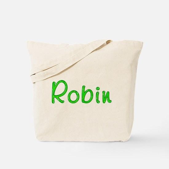 Robin Glitter Gel Tote Bag
