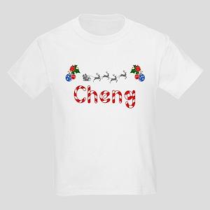 Cheng, Christmas Kids Light T-Shirt
