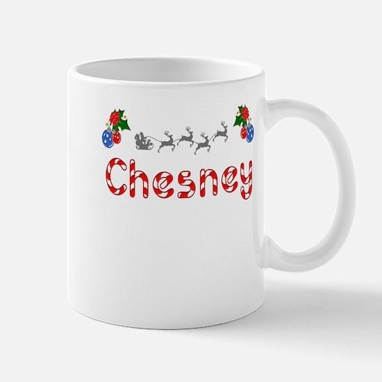 Chesney, Christmas Mug