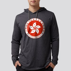 Hong Kong Mens Hooded Shirt