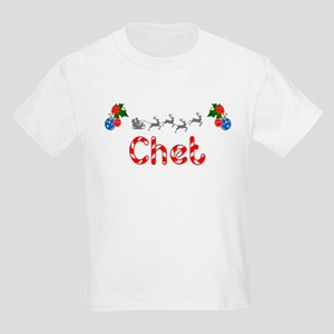 Chet, Christmas Kids Light T-Shirt