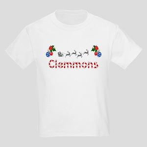 Clemmons, Christmas Kids Light T-Shirt
