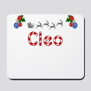 Cleo, Christmas Mousepad