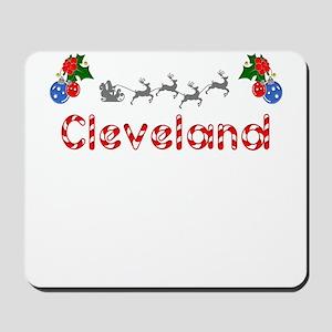 Cleveland, Christmas Mousepad