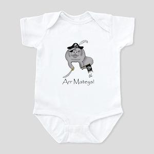Pirate Manatee Infant Bodysuit