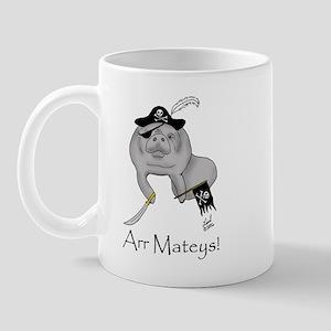 Pirate Manatee Mug