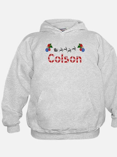 Colson, Christmas Hoodie