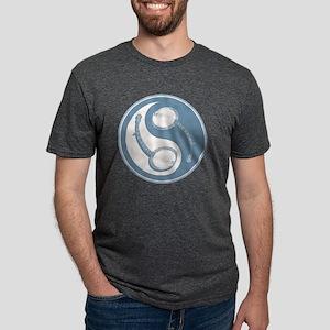 banjo-yang-blu-T Mens Tri-blend T-Shirt