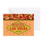 Thanksgiving In Las VegasGreeting Cards (Pk of 20)