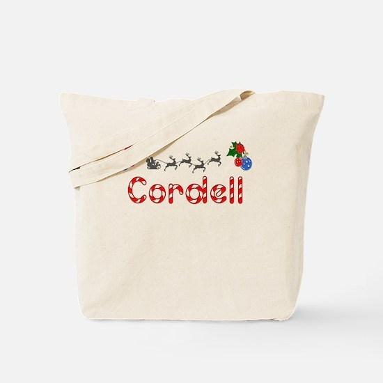Cordell, Christmas Tote Bag