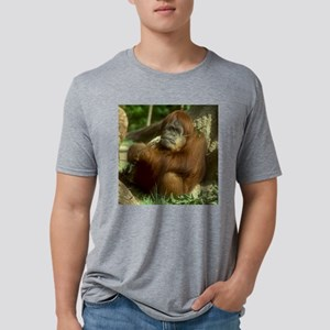 5x5 Orangutan (c)SallyMcCra Mens Tri-blend T-Shirt