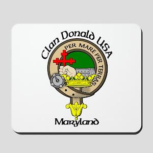 Maryland Clan Donald Mousepad