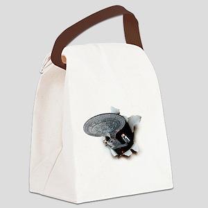startrek_burster2a Canvas Lunch Bag