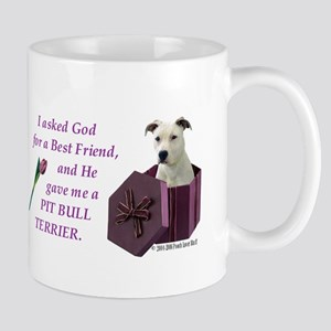 Pit Bull Terrier (White) Mug