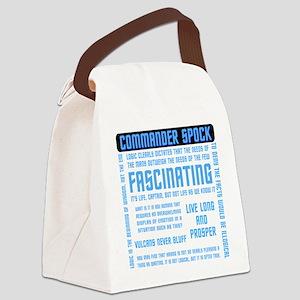 spock_cloud Canvas Lunch Bag