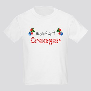 Creager, Christmas Kids Light T-Shirt