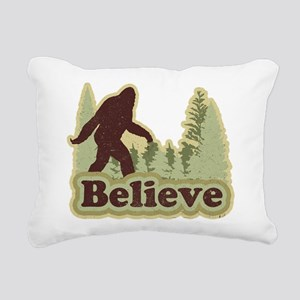 believe Rectangular Canvas Pillow