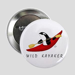 Wild Kayaker Button
