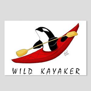Wild Kayaker Postcards (Package of 8)