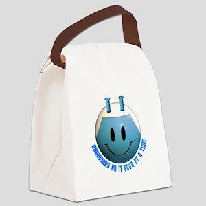 andorian_smiley Canvas Lunch Bag