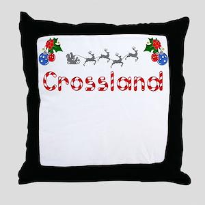 Crossland, Christmas Throw Pillow