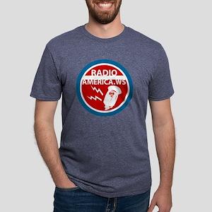 PNG-radio-america Mens Tri-blend T-Shirt