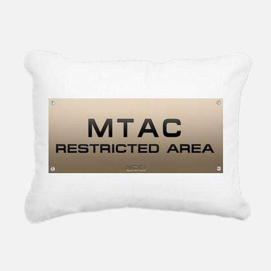 NCIS24b.png Rectangular Canvas Pillow