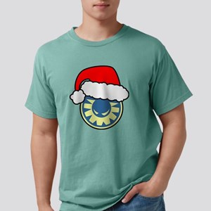 Xmas Wicked Sunshine Log Mens Comfort Colors Shirt