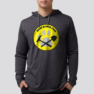 cutoutNEWrockhound-sticker Mens Hooded Shirt