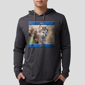 NA-lilbrowolfBIB-2 Mens Hooded Shirt