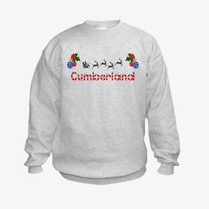 Cumberland, Christmas Kids Sweatshirt