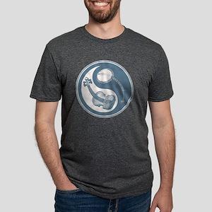 violyin-twangblu-T Mens Tri-blend T-Shirt