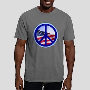 Peace flag Mens Comfort Colors Shirt