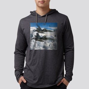 2 Hornets Mens Hooded Shirt