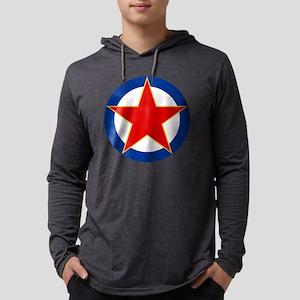 S F R Yugoslavia Mens Hooded Shirt