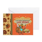 Las Vegas Thanksgiving Feast Cards (Pk of 20)