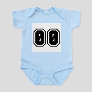 SPORTS JERSEY 00 Infant Bodysuit