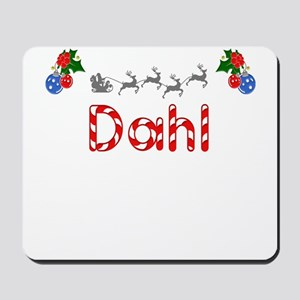 Dahl, Christmas Mousepad