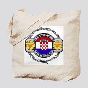 Croatia Water Polo Tote Bag