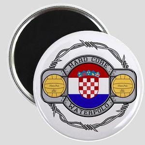 Croatia Water Polo Magnet
