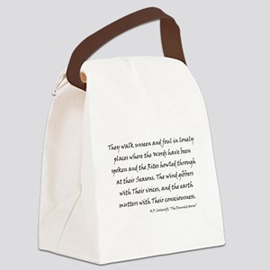 lovecraft11a Canvas Lunch Bag