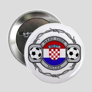 Croatia Soccer Button