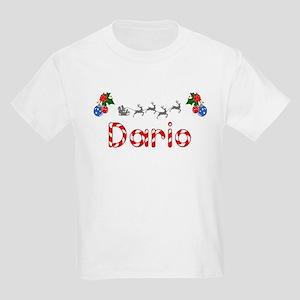 Dario, Christmas Kids Light T-Shirt