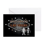 Las Vegas Halloween Party Cards (Pk of 20)