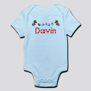Davin, Christmas Infant Bodysuit