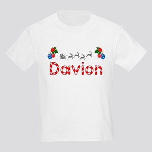Davion, Christmas Kids Light T-Shirt